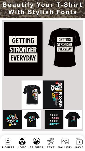 T Shirt Design - Custom T Shirts  Screenshots 4