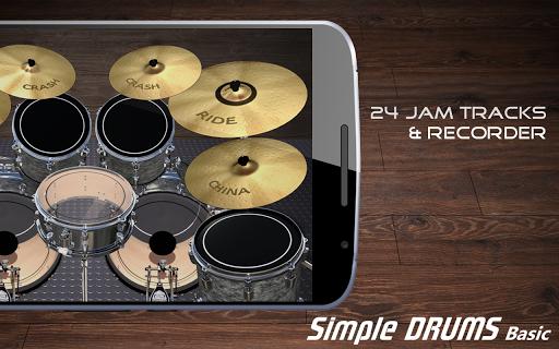 Simple Drums Basic - Virtual Drum Set 1.2.9 Screenshots 2