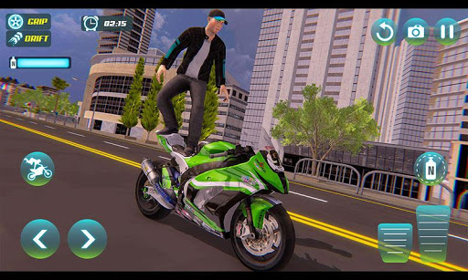 City Bike Driving Simulator-Real Motorcycle Driver screenshots 2