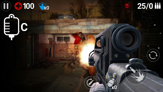 Gun Trigger Zombie Mod Apk (God Mode/One Hit) 2