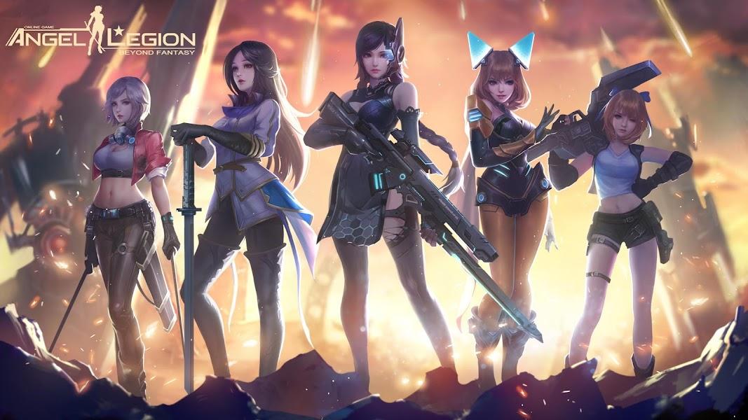 Angel Legion: Space Fantasy RPG