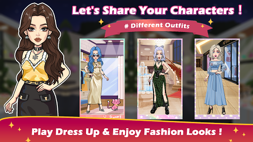 Vlinder Story:Dress up Games, Fashion Dolls APK MOD  1
