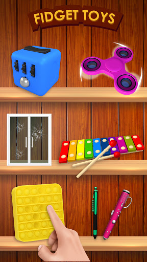 Fidget Toys 3D - Fidget Cube, AntiStress & Calm  screenshots 2