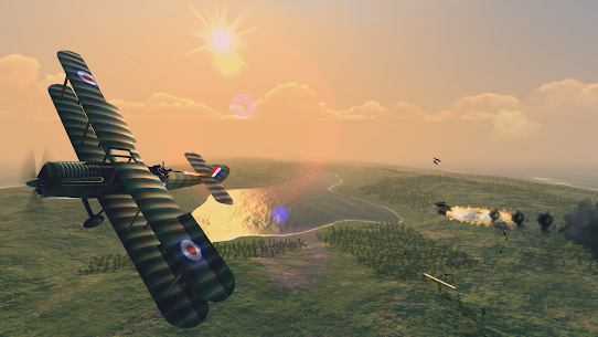 Warplanes: WW1 Sky Aces Mod Apk 1.4.2 (Unlimited Gold/Silver/Fuel) 4
