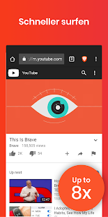 Brave Browser: Privater web-browser, Werbeblocker Screenshot
