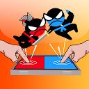 ジャンプ忍者バトル - 友達と2人のプレイヤー
