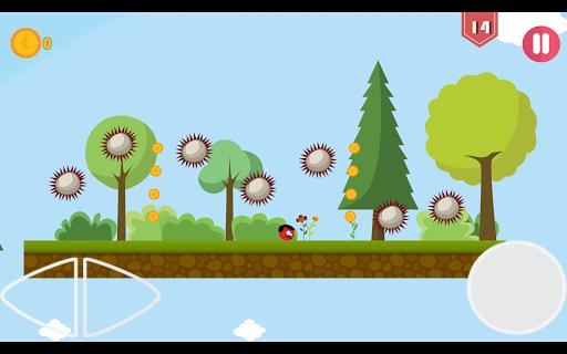 Super Red Jump Ball Mr Mustache 2.3 screenshots 11