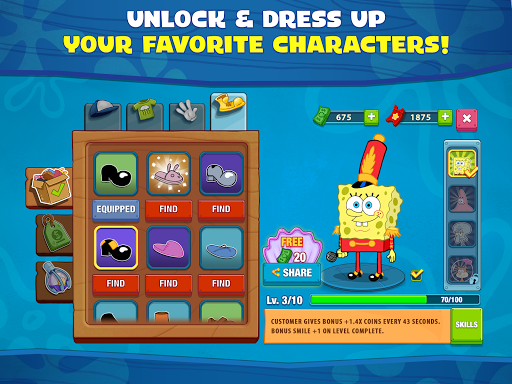SpongeBob: Krusty Cook-Off 1.0.24 screenshots 22
