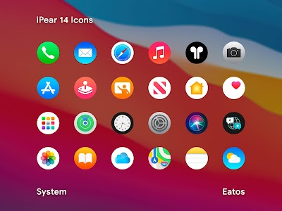 iPear 14 - Round Icon Pack 1.1.8 (Patched)