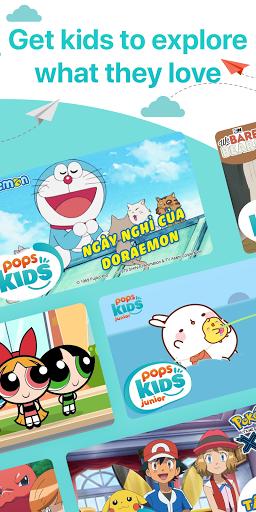 POPS KIDS - Edutainment, Cartoon & Children's song screenshots 5
