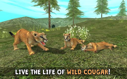 Wild Cougar Sim 3D 100 screenshots 1