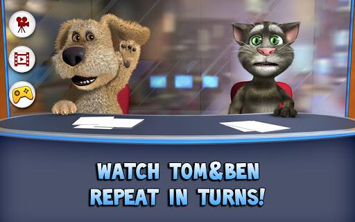 Talking Tom & Ben News apktram screenshots 1