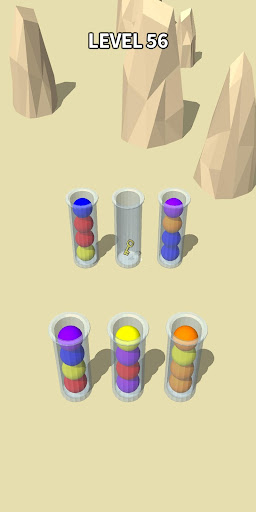 Color Sort 3D: Fun Sorting Puzzle - Ball Stack 0.3.3 screenshots 8