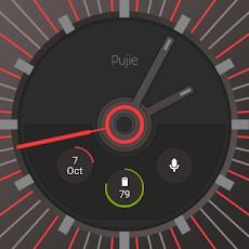 Pujie Red - Wear Watch Faceのおすすめ画像4