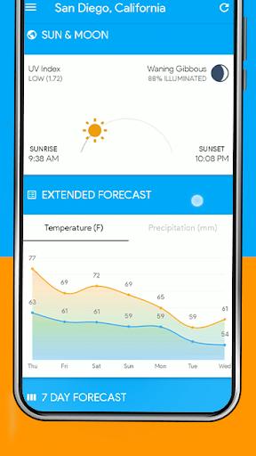 Weather Home - Live Radar Alerts & Widget modavailable screenshots 5