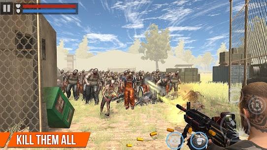 Dead Target MOD APK: Zombie Offline – Shooting Games [Unlimited Guns, Gold, Cash] 8