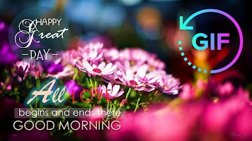 Good Morning Gif with the best Wishes Message