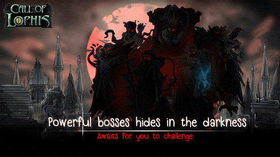Lophis Roguelike: gioco di ruolo di carte, schermata di Darkest Dungeon