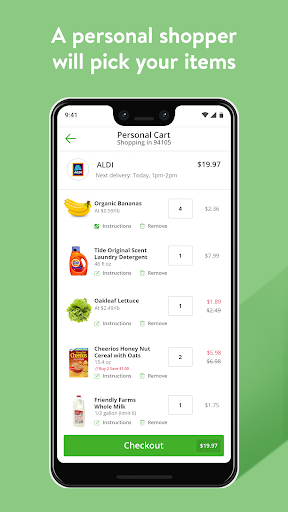 Instacart: Shop groceries & get same-day delivery android2mod screenshots 5