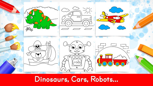 Coloring Games for Kids -Tashi apkpoly screenshots 16