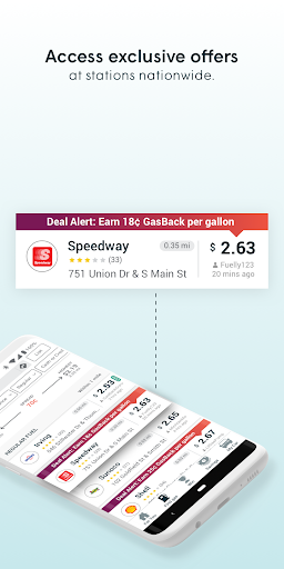 GasBuddy: Find and Pay for Cheap Gas and Fuel modavailable screenshots 3
