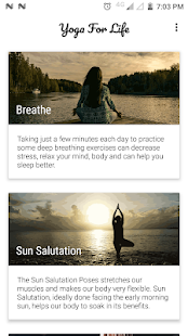 Yoga for Life - The Health Secret In Your Pocket.