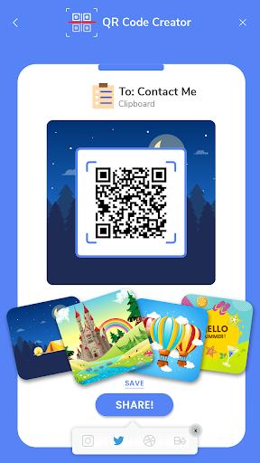 QR Code Reader - Fast Scan, Barcode & QR Scanner android2mod screenshots 2