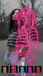Instasquare Photo Editor: Drip Art, Neon Line Art 2.5.5.0 (Pro) (armeabi-v7a + arm64-v8a)