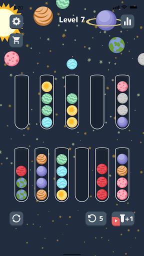 Sort Color Balls - puzzle game  screenshots 1