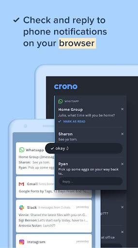Crono: A Personal Notification Center Companion android2mod screenshots 1
