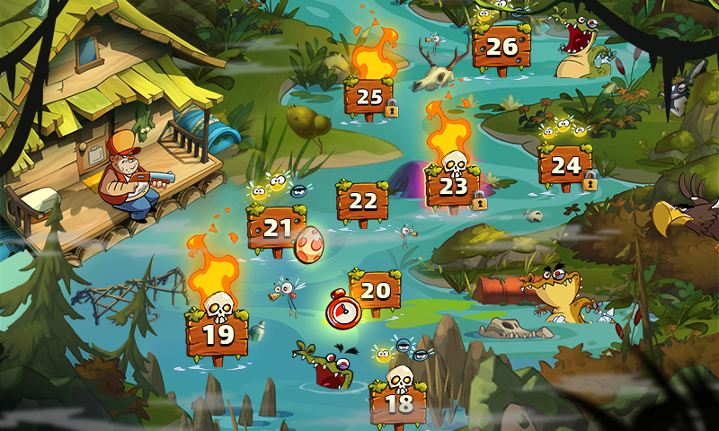 Swamp Attack 2 MOD poster 4