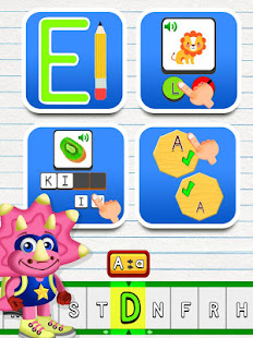ABC Dinos: Learn to read for preschool