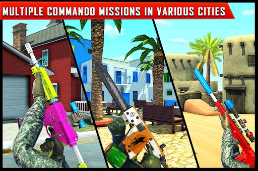 Real Commando Counter Terrorist-FPS Shooting Games 1.8 Screenshots 6