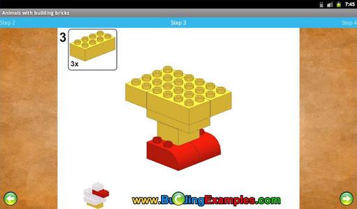 Animals with building bricks  screenshots 11