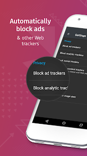 Firefox Focus: The privacy browser Screenshot