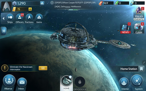 Star Treku2122 Fleet Command 1.000.12657 screenshots 16