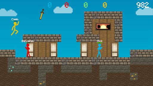 Stickman vs Multicraft: Survival Craft Pocket apkdebit screenshots 4