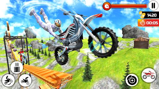 Bike Stunt Trick Master- Bike Racing Game 2021  screenshots 1