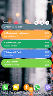 Calendar Agenda Widget (Material Design) Screenshot