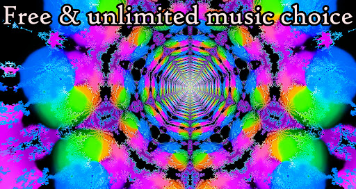 Alien Worlds Music Visualizer - Fluid UFO Chillout android2mod screenshots 2