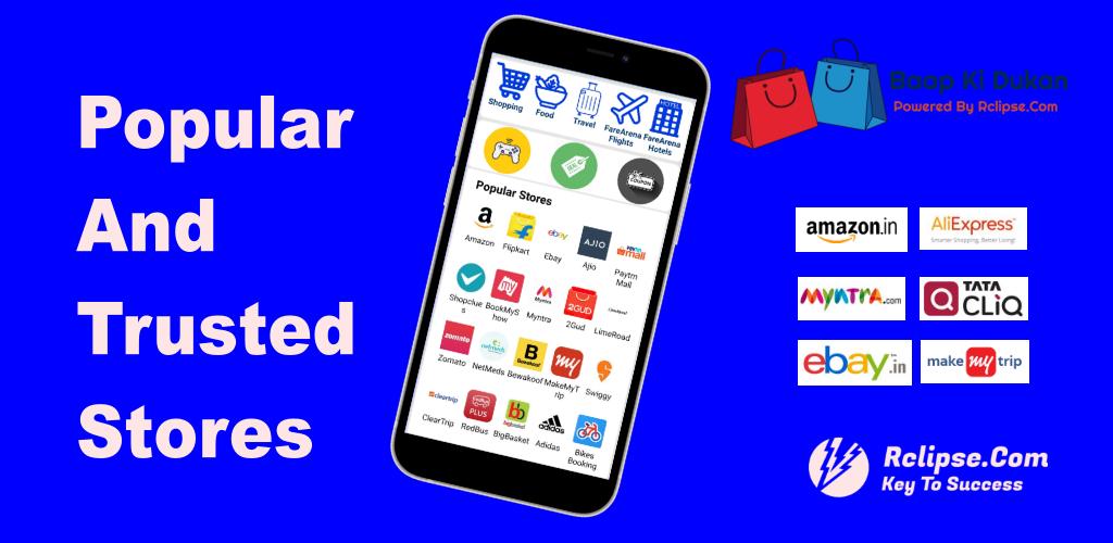 Baap Ki Dukan - All In One Shopping App screenshot 1