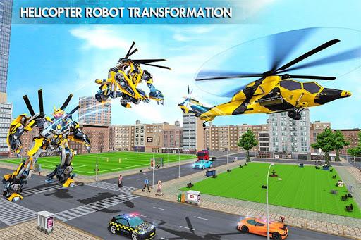 Helicopter Robot Transform War u2013 Air robot games  screenshots 6