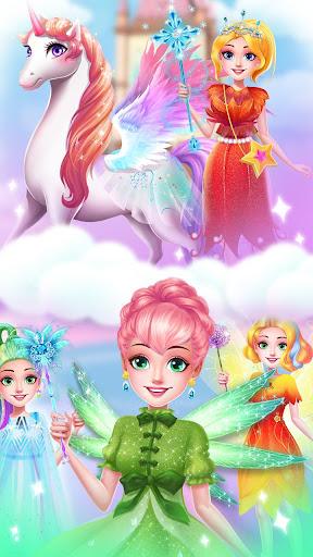 ud83dudc78Rainbow Princess & Unicorn Makeup - Fashion Trip 1.8.5038 screenshots 24