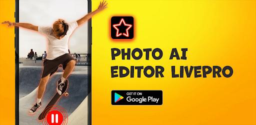 Photo AI editor LivePro Versi 1.0.1