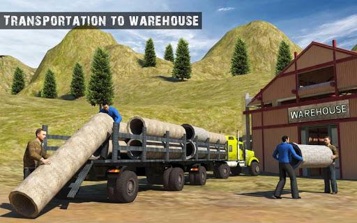 USA Truck Driving School: Off-road Transport Games  screenshots 17