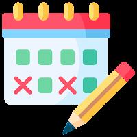 Calendar App: Agenda Planner - Calendar 2021 Diary Icon