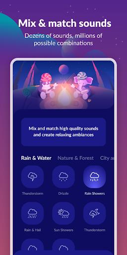 Sleepa: Relaxing sounds, Sleep android2mod screenshots 3