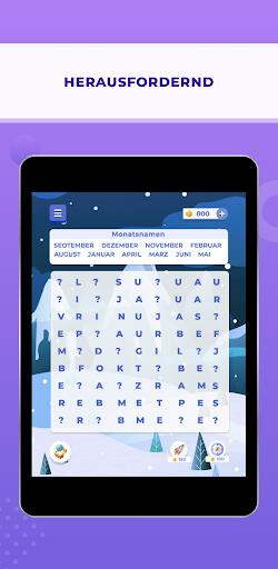 Wortsuche Abenteuer - Kostenlos Wortspiel Deutsch 0.0.8 screenshots 14