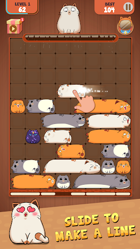Haru Cats: Slide Block Puzzle 1.4.10 screenshots 6