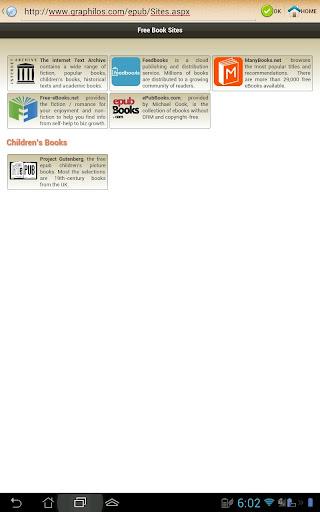 ePub Reader for Android 2.1.2 Screenshots 16